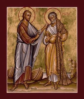 Jesus Peter Su Ei Petros