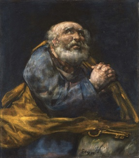 Francisco_José_de_Goya_-_The_Repentant_St._Peter