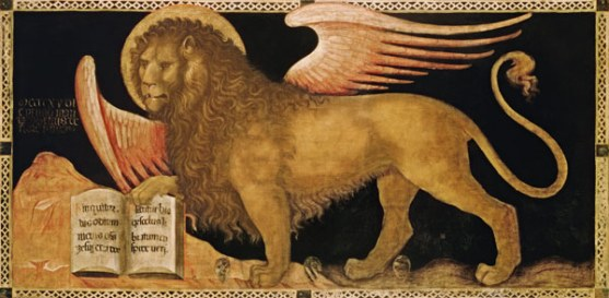 St Mark Lion Jacobello-del-Fiore-Markusloewe