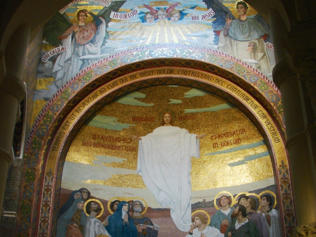 Ascension_Mosaic_Lourdes